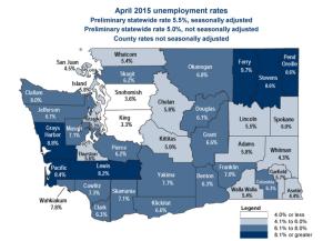 April County unemployment